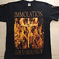 IMMOLATION Close To A World Below Tour 2001