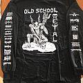old school metal shirt