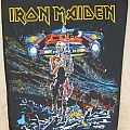 Iron Maiden - Somewhere On Tour (unofficial) backpatch