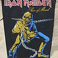 Iron Maiden - Piece Of Mind backpatch