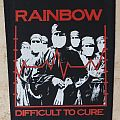 Old Rainbow Diffiocult to Cure backpatch (30 x 26cm)