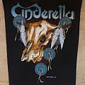 Cinderella - 1988 Official Backpatch