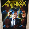 Anthrax - Among The Living (80s backpatch)