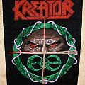 Old (used) Kreator backpatch