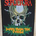 Sepultura - Death From The Jungle backpatch