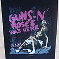 Guns n' Roses - Was Here - Appetite for Destruction backpatch