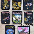 Iron Maiden patches (printed, unused, old)