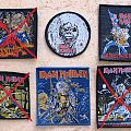 Iron Maiden patches (woven, unused, old)