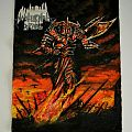 Nocturnal breed handpainted backpatch