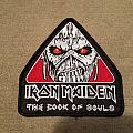 Irin Maiden Book of Souls 2017 Tour Patch