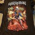 Iron Maiden Book of Souls 2017 US Tour Tee TShirt or Longsleeve