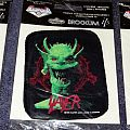 Slayer Root Of All Evil Silk Screen Printed patch