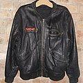 Manowar Triumph of Steel World Tour crew leather jacket