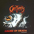 TShirt or Longsleeve - Obituary Cause Of Death og shirt