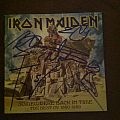 Other Collectable - Iron Maiden- Somewhere Back In Time CD Signed