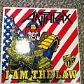 """Other Collectable - Anthrax- I Am The Law 12"""" Maxi single"""