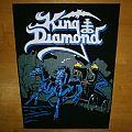 King Diamond backpatch