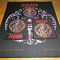 Deicide - Medallion patch and backpatch