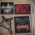 Patch - Demonic war, candlemass, oz , benediction patches