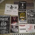 Some ticket shows and flyers