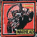 """Warhead - """"Speedway"""" official woven patch"""