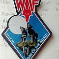 """Wolf - """"Edge of the World"""" official woven patch"""
