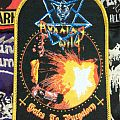 "Running Wild - Patch - Running Wild - ""Gates to Purgatory"" woven patch"