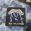 DIY Ride The Lightning patch