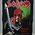 In The Sign Of Evil back patch