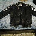 My painted leather Battle Jacket