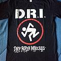 D.R.I. concert tshirt