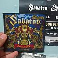 "Sabaton - ""Carolus Rex"" patch"