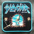 "Glacier - Patch - Glacier - ""Glacier"" woven official patch"