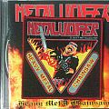 """Metalucifer - """"Heavy Metal Chainsaw"""" official woven patch"""