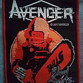 "Avenger - ""Blood Sports"" woven patch"