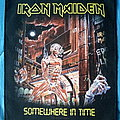 "Iron Maiden - Patch - Iron Maiden - ""Somewhere in Time"" backpatch"