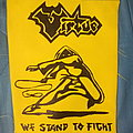 "Virtue - ""We Stand To Fight"" DIY backpatch"