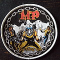 "MP (Metal Priests) - Patch - MP - ""Bursting Out"" woven patch"