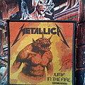 "Metallica - Patch - Metallica - ""Jump in the Fire"" woven patch"