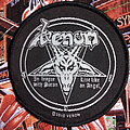"Venom - ""In League With Satan/Live Like An Angel"" official woven patch"