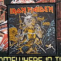 "Iron Maiden - ""Live After Death"" woven official patch"