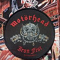 "Motörhead - ""Iron Fist"" official patch"