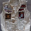 Hellhammer - Battle Jacket - Bleached denim vest