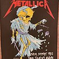 Metallica - Patch - Metallica - Their Money Scips Her Scales Again - 1988 - Tronseal - Backpatch