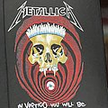 Metallica - Patch - Metallica - In Vertigo You Will Be - 1989 Metallica - Brockum - Backpatch