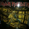 Iron Maiden - Piece of Mind LP (signed by Bruce Dickinson!) Tape / Vinyl / CD / Recording etc