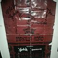 Manilla Road gig poster (signed) Other Collectable