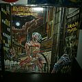 Iron Maiden - Somewhere in Time LP (signed by Steve Harris!) Tape / Vinyl / CD / Recording etc