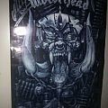 Motörhead beer and Kiss of Death poster signed by Mikkey Dee Other Collectable