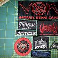 Black and Death Metal patches for sale! Nifelheim Massacre Absu Perversifier Von